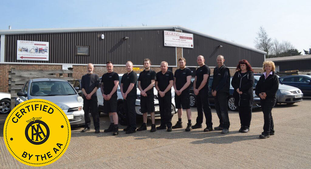 Segensworth Automobiles is now a member of the AA Certified Garage Programme!