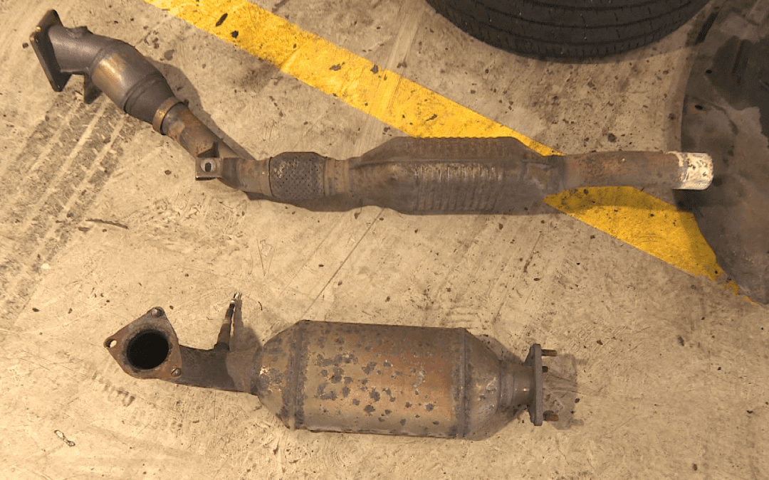 Catalytic converter theft causing rise in breakdowns says the AA